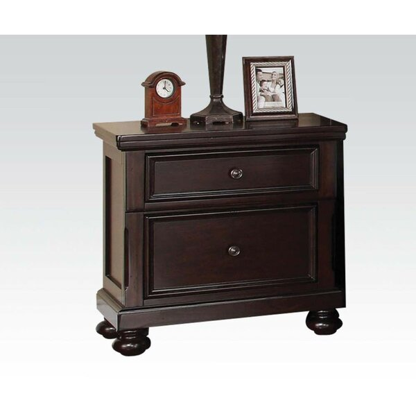 Mcpeak 2 Drawer Nightstand by Darby Home Co