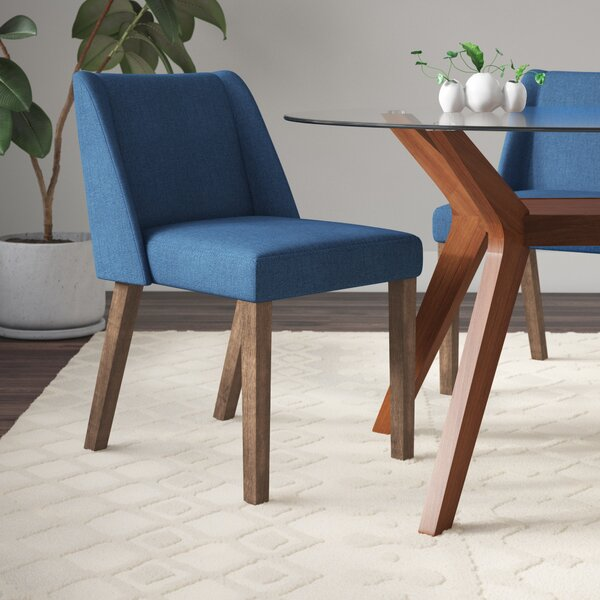 Grimmer Upholstered Dining Chair (Set of 2) by Ivy Bronx