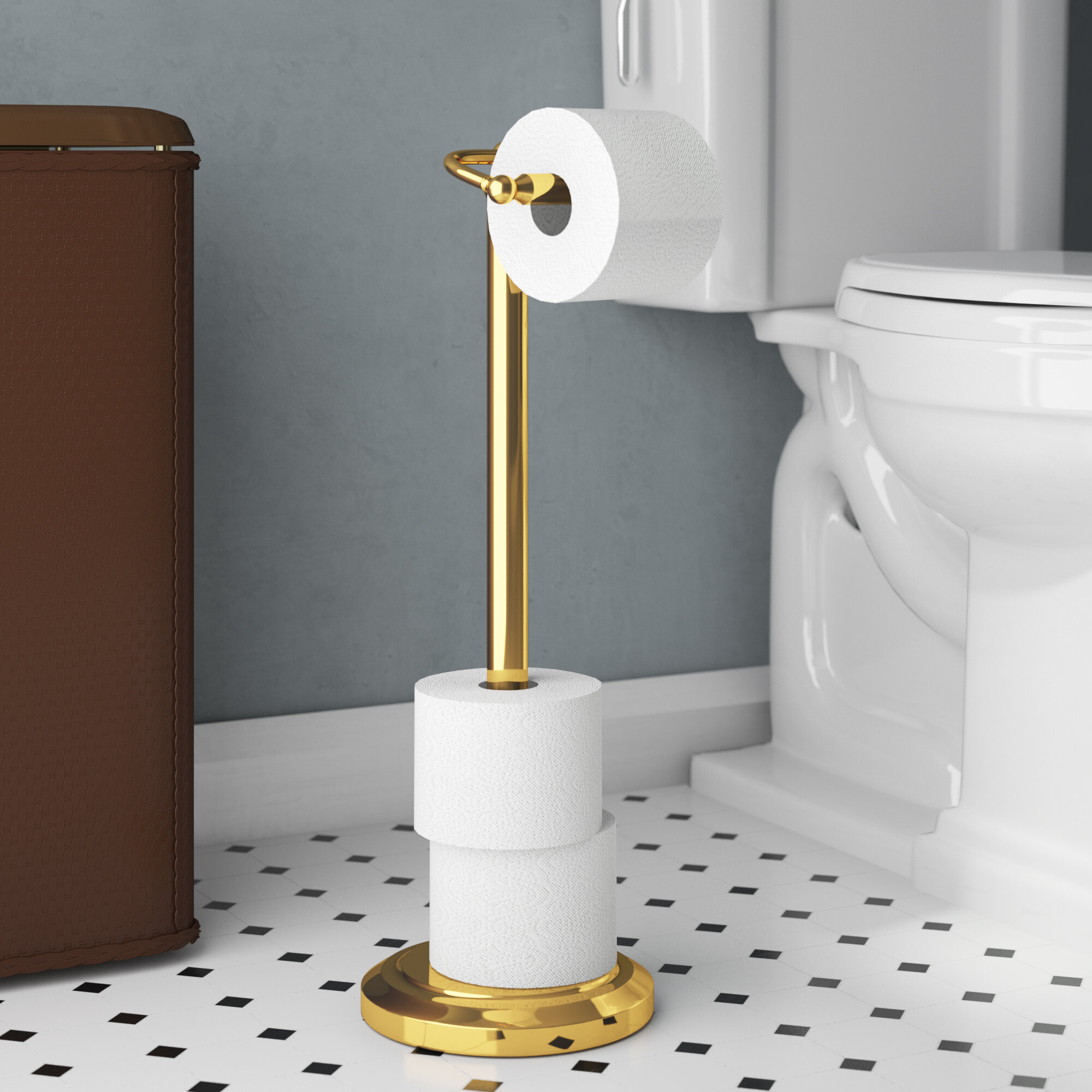 Toilet Paper Holders Up To 55 Off Through 02 16 Wayfair