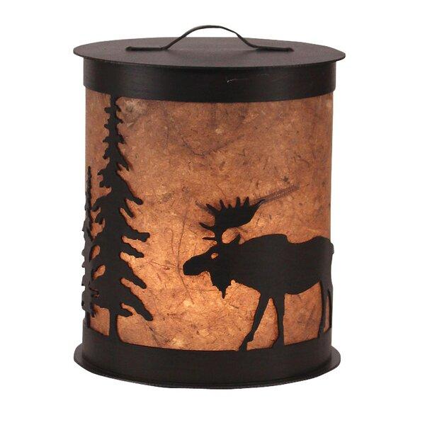 Moose and Tree 1- Light Night Light by Coast Lamp Mfg.