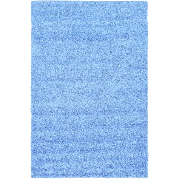 Affinity Hand-woven Blue Area Rug by Affinity Linens