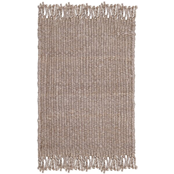 Lookout Fiber Hand-Woven Gray Area Rug by Laurel Foundry Modern Farmhouse