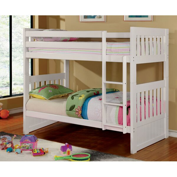 Caitlyn Twin over Twin Futon Bunk Bed by Hokku Designs