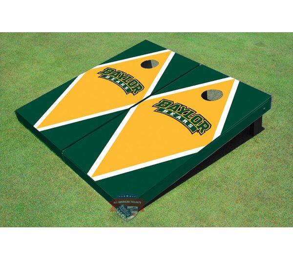 NCAA Matching Diamond Cornhole Board (Set of 2) by All American Tailgate