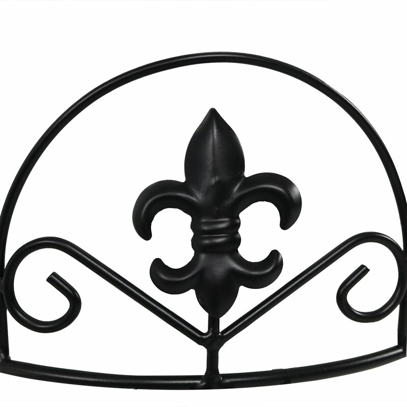 Fleur De Lis Living Ludgershall French Lily Design 3 Tiered Indoor