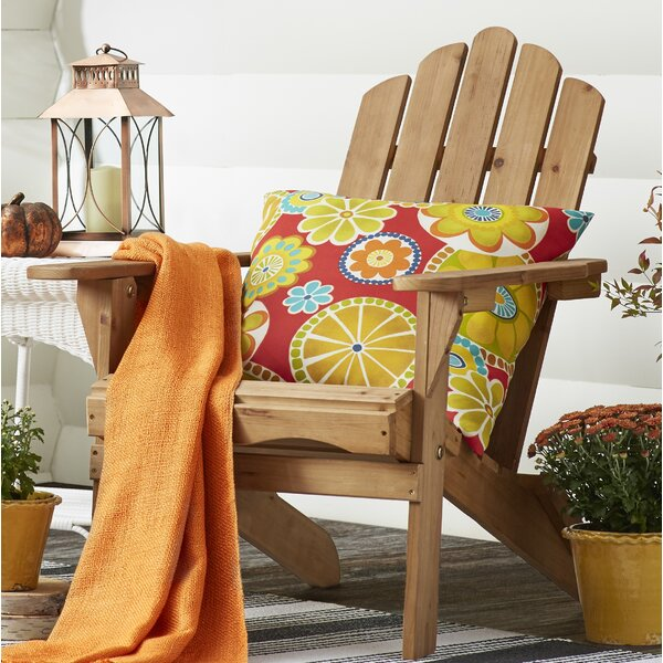 Eastpoint Solid Wood Folding Adirondack Chair by Beachcrest Home