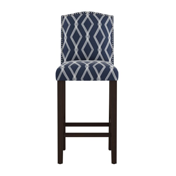 Edford Arched Crossweave 31 Bar Stool by Wrought StudioEdford Arched Crossweave 31 Bar Stool by Wrought Studio