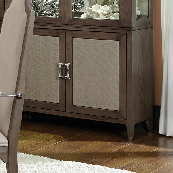 Biscayne West Lighted China Cabinet by Michael Amini