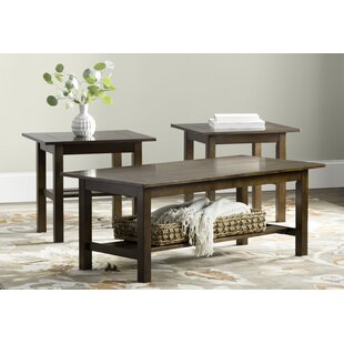 Frances 3 Piece Coffee Table Set Andover Mills