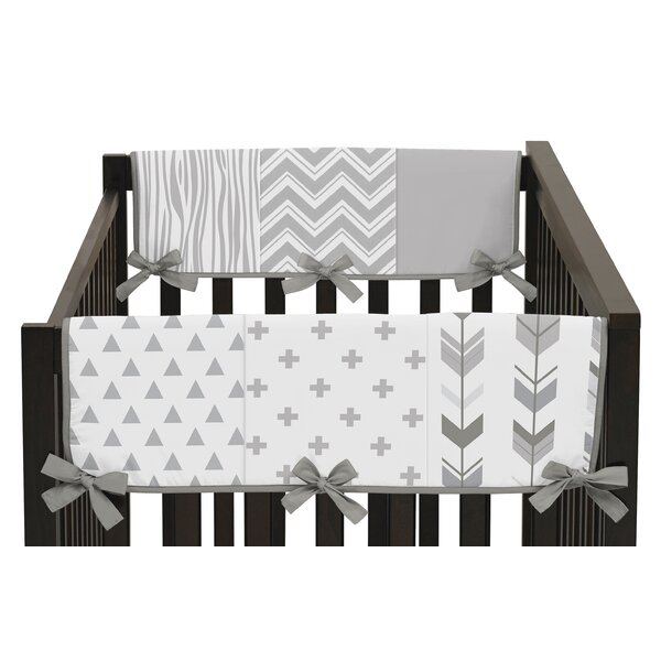 Woodsy Crib Rail Guard Cover by Sweet Jojo Designs