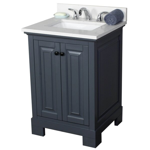 Stetson 24 Single Bathroom Vanity Set by Darby Home Co