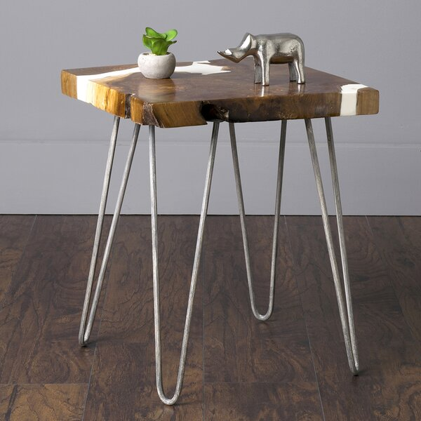 Tomes End Table by Union Rustic