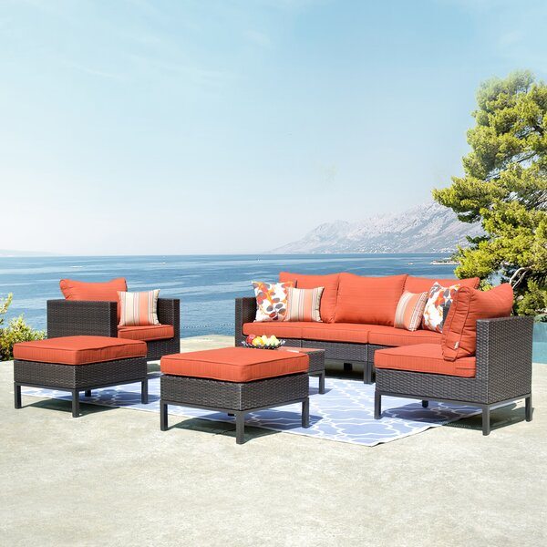 Cassville Tmall 8 Piece Sofa Seating Group With Cushions By Brayden Studio