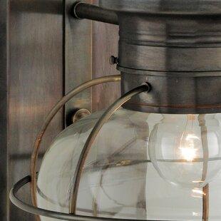 Reviews Lyla Outdoor 1-Light Lantern Head By Gracie Oaks