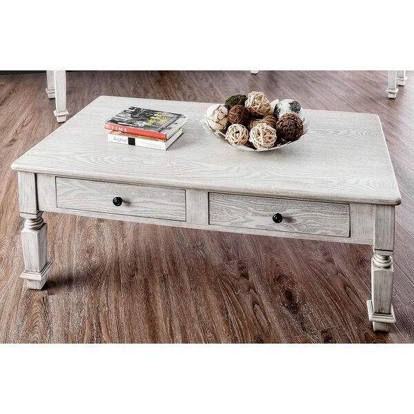 Thaxted Coffee Table with Storage by Alcott Hill Alcott Hill