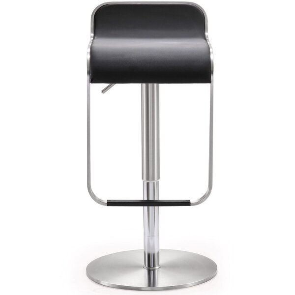 Hatchett Adjustable Height Swivel Bar Stool By Orren Ellis