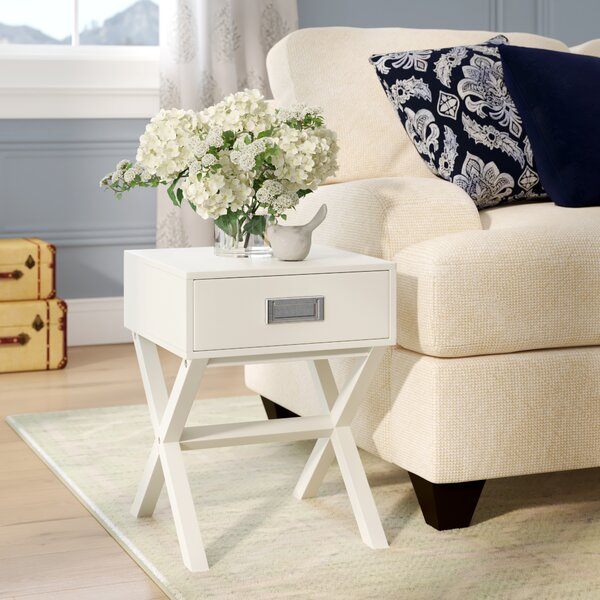 Aviana End Table With Storage By Ebern Designs