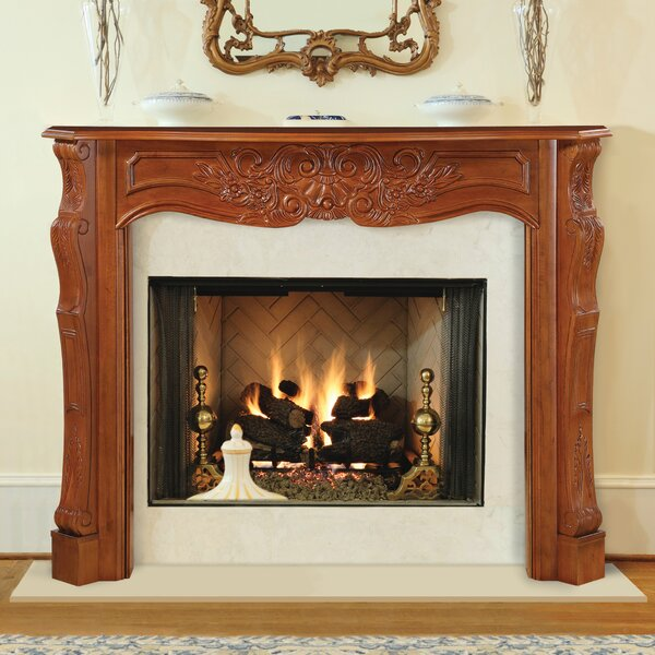 The Deauville Fireplace Surround By Pearl Mantels