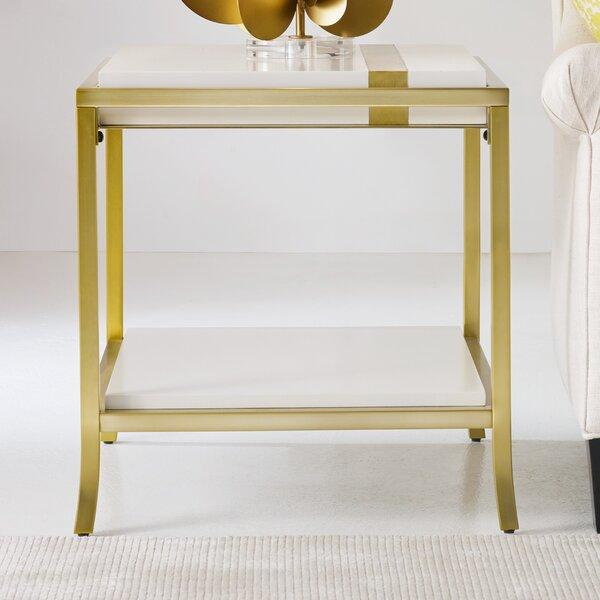 Side Stripe End Table by Cynthia Rowley