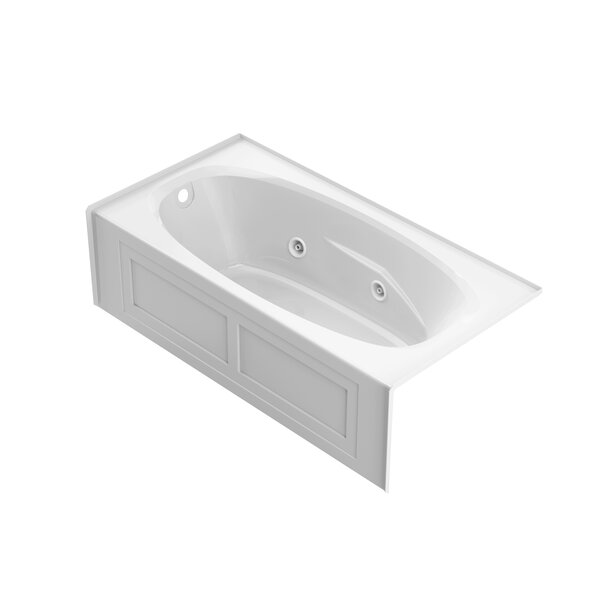 Amiga 72 x 36 Skirted Whirlpool Bathtub by Jacuzzi®