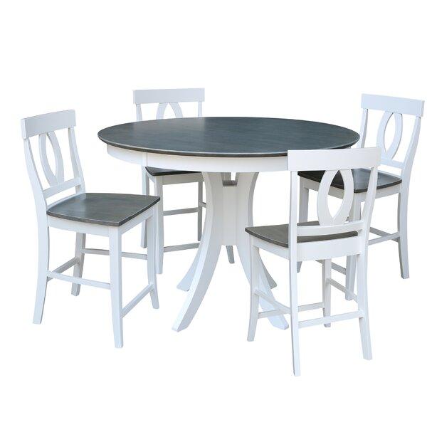 Mathew Counter Height 5 Piece Pub Table Set By Red Barrel Studio No Copoun