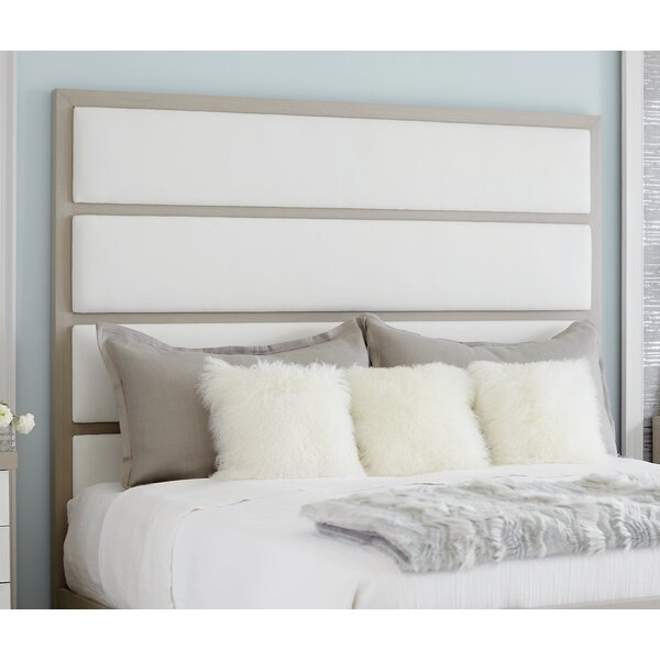 Axiom Upholstered Panel Headboard and Footboard by Bernhardt