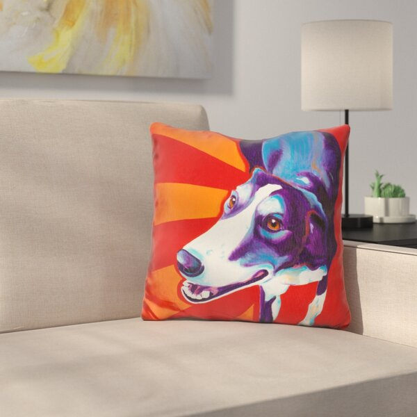 Evie Throw Pillow by East Urban Home