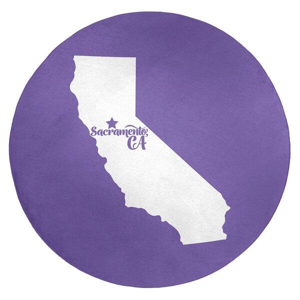 Sacramento California Poly Chenille Rug