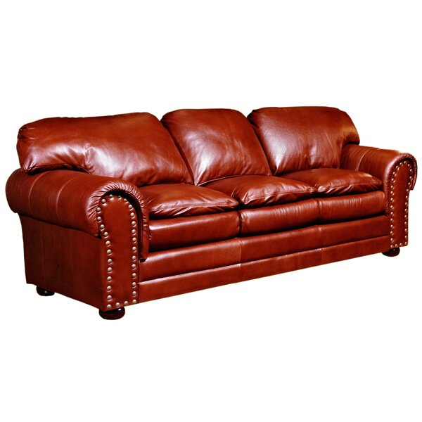 Modern Torre Leather Sofa Hello Spring! 65% Off