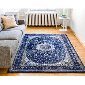 Luxury Blue Area Rug