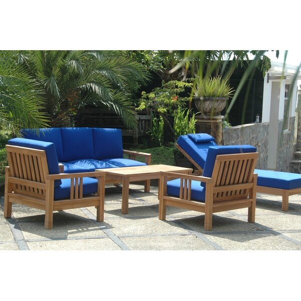 South Bay 5 Piece Teak Sofa Seating Group by Anderson Teak