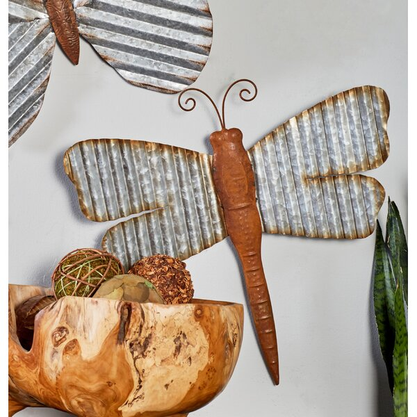 3 Piece Dragonfly Wall Decor Set (Set of 3) by August Grove