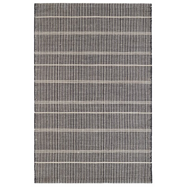 Samson Hand-Woven Black Indoor/Outdoor Area Rug by Bunny Williams for Dash and Albert