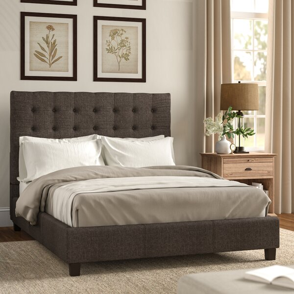 Neher Upholstered Platform Bed by Brayden Studio