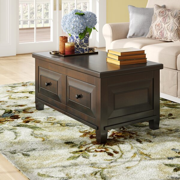 Edmondson Coffee Table with Lift Top by Three Posts