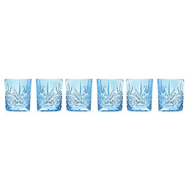 Dublin Blush DOF 8 oz. Crystal Cocktail Glass (Set of 6) by Godinger Silver Art Co