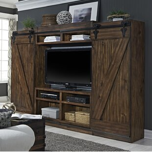 Yother Solid Wood Entertainment Center Bridge by August Grove
