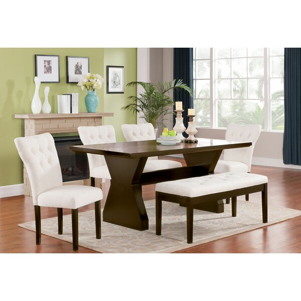 Lulsgate 6 Piece Dining Set by Red Barrel Studio