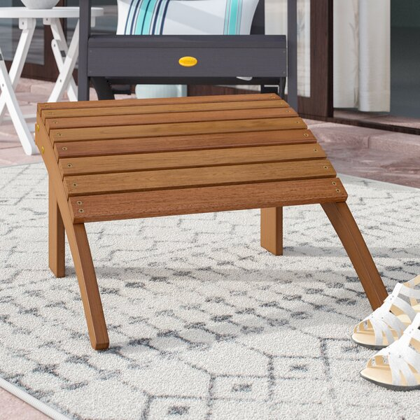 Knowlson Outdoor Ottoman by Beachcrest Home