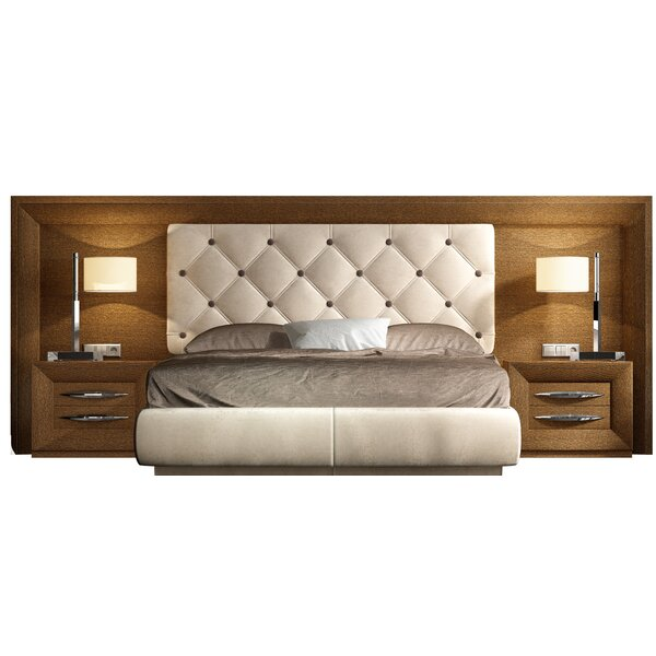 Rone Upholstered Standard Bed by Brayden Studio Brayden Studio
