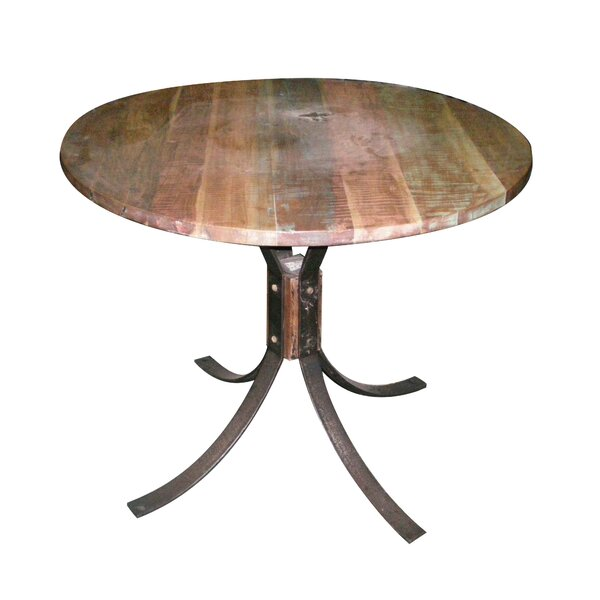 Boyles Wood and Iron Dining Table by Williston Forge