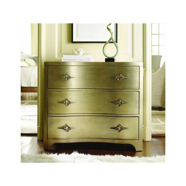 Sanctuary 3 Drawer Shaped Front Dresser by Hooker Furniture