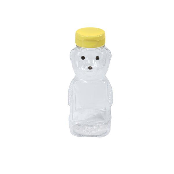 Little Giant 12 Oz. Plastic Honey Bear Bottle (Set