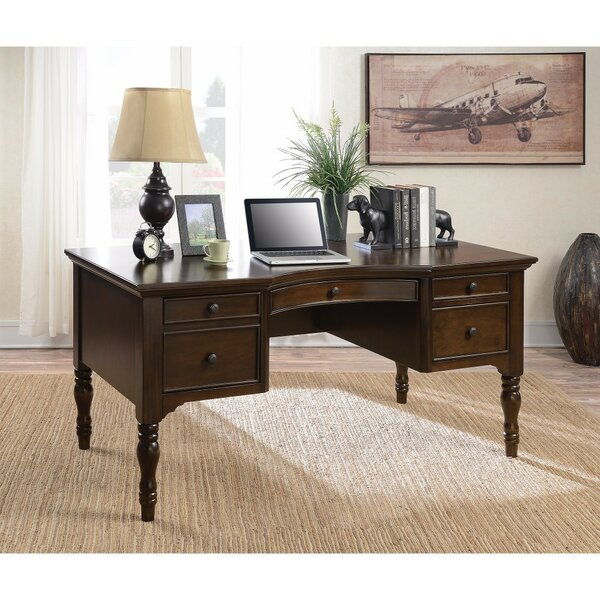 West End Writing Desk by Canora Grey