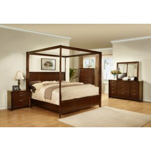 Lancaster Canopy Customizable Bedroom Set
