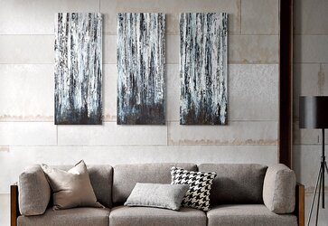 Modern Living Room Wall Art 30 awesome wall art ideas tutorials. home decoration with burlap