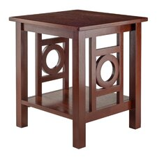Cider Hill End Table by Andover Mills