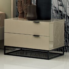 Devitto 2 Drawer Nightstand by Argo Furniture