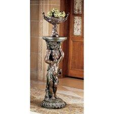 Sous la Vigne Pedestal Plant Stand by Design Toscano