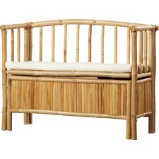Porter Bamboo Storage Entryway Bench by Bay Isle Home